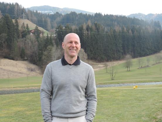 Max Pfuner - Management am OPEN GOLF St. Johann Alpendorf
