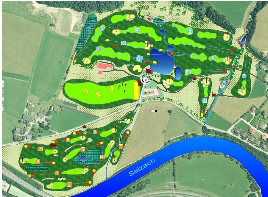 Unsere Golfanlage im Überblick